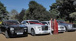 Asian wedding car hire