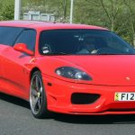 Red Ferrari Limo Hire 2