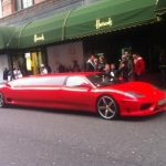 Red Ferrari Limo Hire 8