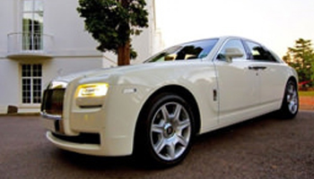 White Rolls Royce Ghost Car Hire Fleet London Herts and Essex