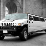 White Hummer Limo H3 Hire 1