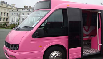 pink party bus prom limos