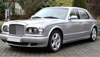 Rent a Silver Bentley Arnage Car Hire Fleet London Herts and Essex