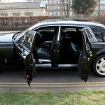 black Rolls Royce hire Herts