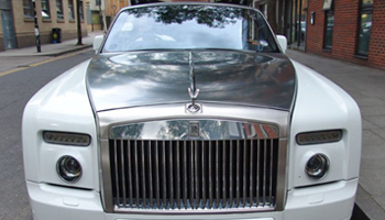Drop Head Rolls Royce Phantom Car Hire Fleet London Herts and Essex