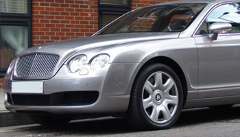 Rent a Silver Bentley Flying Spur Car Hire Fleet London Herts and Essex