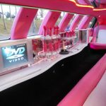 Lincoln Town Car Pink Limo Hire 5