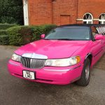 Lincoln Town Car Pink Limo Hire 2