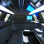 Lincoln Town Car white limo hire 5