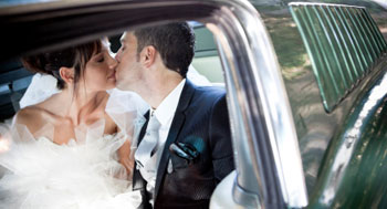 wedding car hire / wedding limo hire