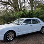 White Bentley Arnage Hire London Herts & Essex 4