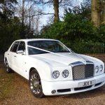 White Bentley Arnage Hire London Herts & Essex 2 class=