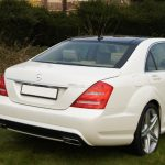 White Mercedes S-Class hire London Herts & Essex 3