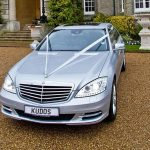 Silver Mercedes S-Class hire London Herts & Essex 1