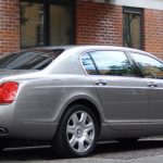 Silver Bentley Flying Spur hire London Herts & Essex 3
