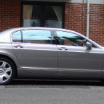 Silver Bentley Flying Spur hire London Herts & Essex 4