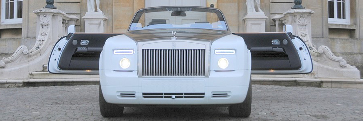 Drop Head Rolls Royce Phantom 2