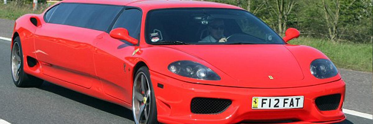 Ferrari Limo 2