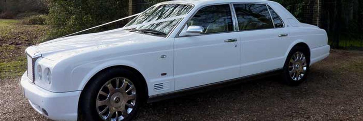 White Bentley Arnage 2