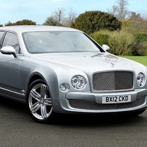 Rent A Silver Bentley Mulsanne Hire London Herts & Essex