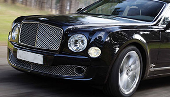 Rent a Black Bentley Mulsanne Car Hire Fleet London Herts and Essex