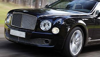 Rent a Black Bentley Mulsanne Car Hire Fleet London Herts and Essex