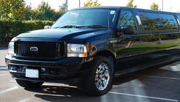Black Ford Excursion Limo Hire London Herts and Essex
