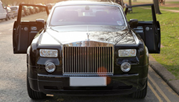 Black Rolls Royce Phantom Car Hire Fleet London Herts and Essex