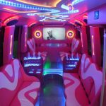party bus hire London 3