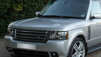 Silver Range Rover Vogue Car Hire Fleet London Herts and Essex