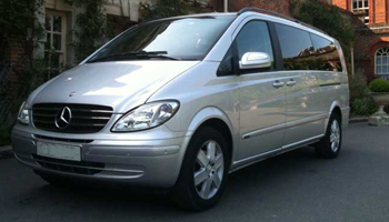 Silver Mercedes Viano Car Hire Fleet London Herts and Essex