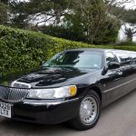 Lincoln Town Car Black Limo Hire 1