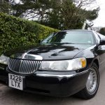 Lincoln Town Car Black Limo Hire 2