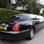 Lincoln Town Car Black Limo Hire 4
