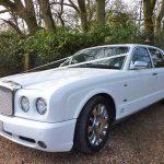 White Bentley Arnage Hire London Herts & Essex 1