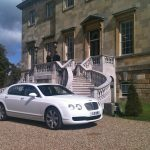 White Bentley Flying Spur Hire London Herts & Essex 1