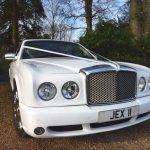 White Bentley Arnage Hire London Herts & Essex 3