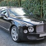 Black Bentley Mulsanne Hire London, Herts & Essex  2