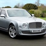 Silver Bentley Mulsanne Hire London, Herts & Essex 4