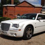 Chrysler luxury car hire London Herts & Essex 1