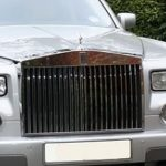 Silver Rolls Royce Phantom Hire London, Herts & Essex 2