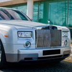 Silver Rolls Royce Hire London