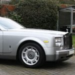 Silver Rolls Royce Phantom Hire Essex