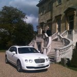 White Bentley Flying Spur Hire London Herts & Essex 3