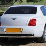 White Bentley Flying Spur Hire London Herts & Essex 4