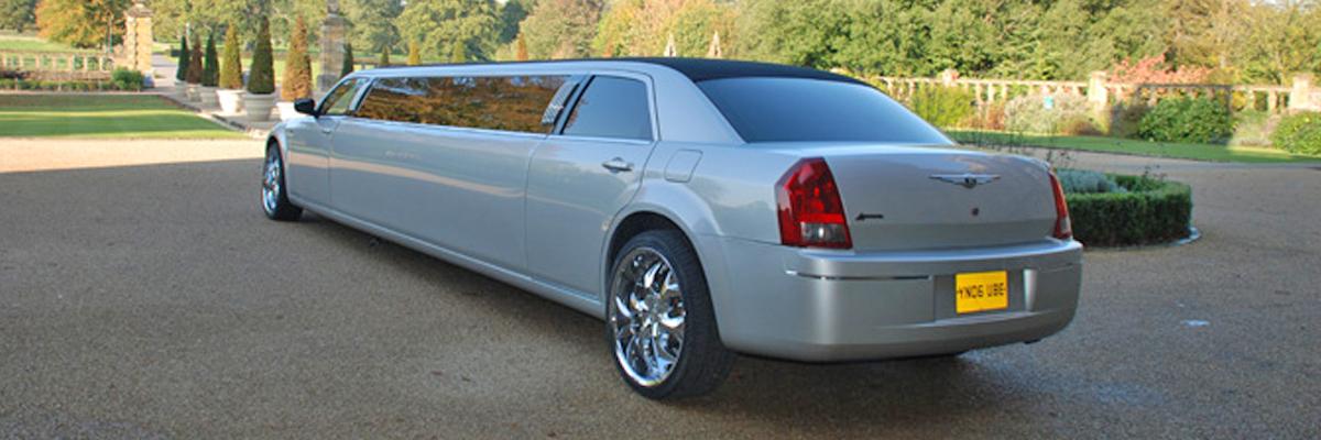 Silver Chrysler Limo 1
