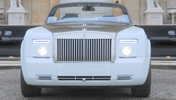 Rolls Royce Drop Head Convertible Hire in London