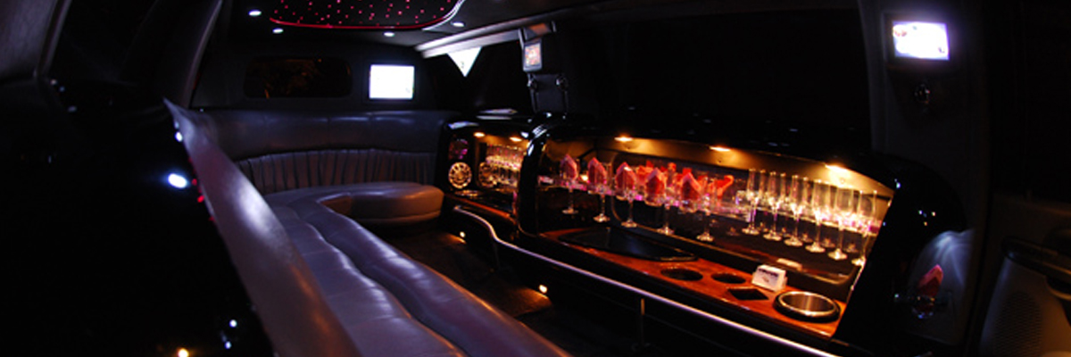 Black Ford Excursion Limo 2