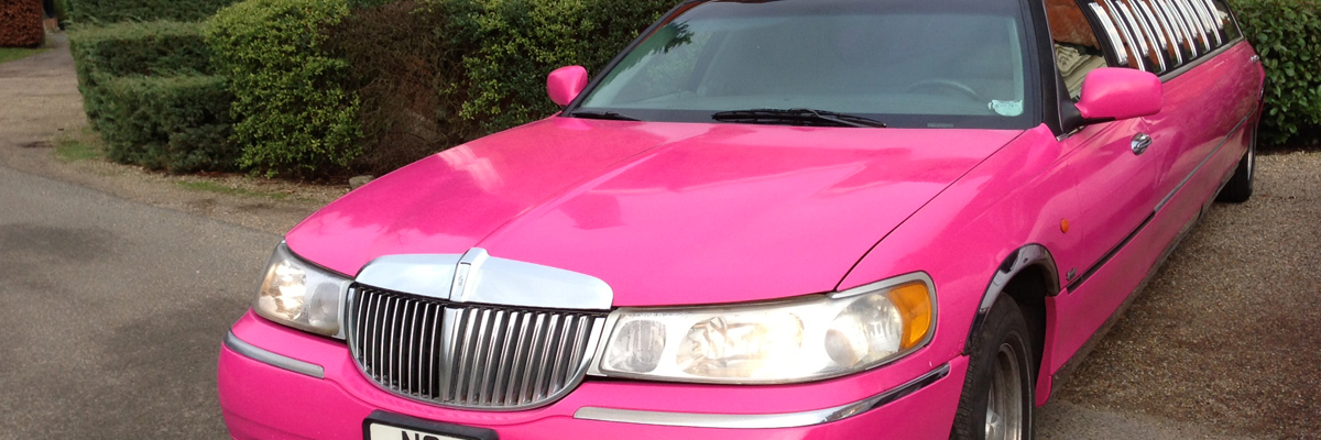 Pink Town Car Limo 3
