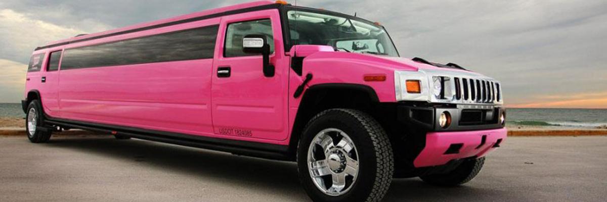 Pink Hummer Limo 2